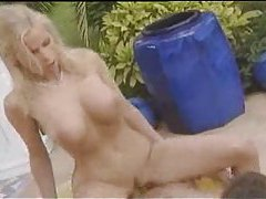 Poolside fuck with a great blonde bimbo tubes