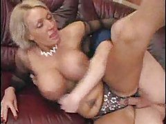 Busty milf in crotchless panties banged tubes