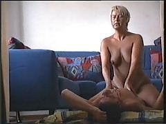 Blonde mature has amateur sex tubes