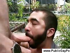 Bearded farmer gives a blowjob tubes