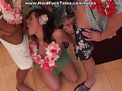 Hard Hawaian foursome tubes