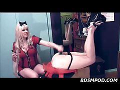 Goddess Starla Punishing A Sissy Ass tubes