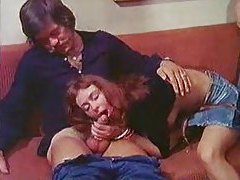 70s porn movie threesome is hot tubes