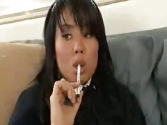 Schoolgirl is studying and then she's fucking tubes