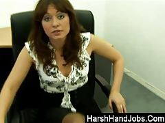 Renee Richards giving a harsh handjob tubes