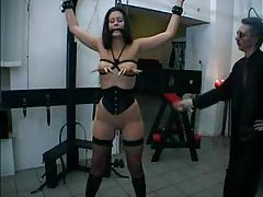 Two painful BDSM scenes for a slut tubes