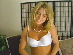 Lusty blonde eats a dick tubes