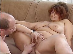 Chubby dude fucks a fat redheaded slut tubes