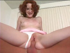 Young redhead doing hard and semi rough sex tubes