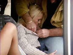 Blonde fucked ina van on the side of the road tubes