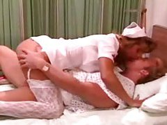 Patient fills nurse with his big cock tubes