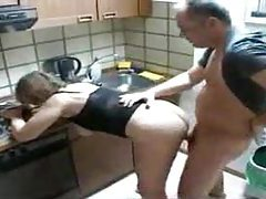 Mom and daugther shared by the plumber tubes