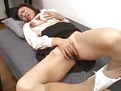 Japanese mother and son get it on tubes