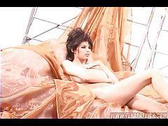 Sexy Tera Patrick doing a photo shoot tubes