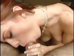 Redhead proves to be a great cocksucker tubes