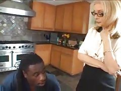 Milf in lingerie and the black man tubes