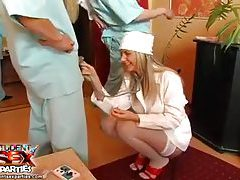 Sexy doctor and nurse party features hotties tubes