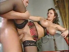 Busty mature blowjob and stockings hardcore tubes