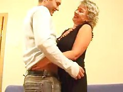 Hot mature Russian blonde banged by young man tubes