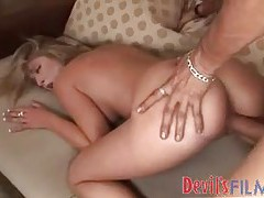 Banging this slut all over the couch tubes