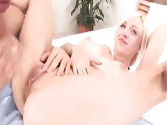 Young blonde with really big boobs fucking tubes