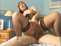 Watch a chubby corseted pornstar go anal tubes