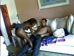 Black chick sucks his hot dick really well tubes