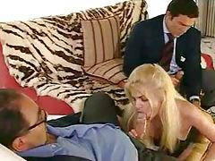 Elegant stockings blonde and big dicks tubes