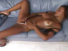 Brazilian slut and the black cock go anal tubes