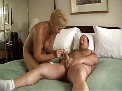 Chubby dude fucking blonde mature slut tubes