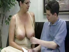 His mature tutor gives him a handjob tubes