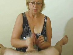 Lusty handjob compilation with big cumshot tubes