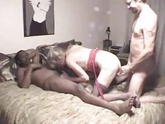 Couple does bisexual threesome with black guy tubes