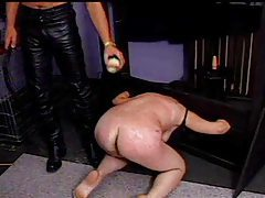 Fat chick is abused badly by bondage master tubes