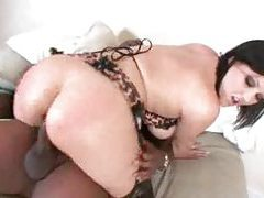 Black dude makes the lingerie milf feel good tubes