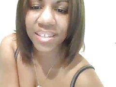 Black webcam girl showing off her privates tubes