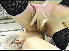 Granny gets fisted by her maid tubes