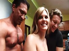 Girl with cute tits is groped by guys tubes