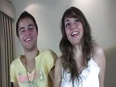 Young couple makes a professional porn scene tubes