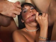 Sucking two guys for two hot loads tubes