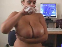 Big oily tits look hot in sultry video tubes