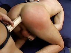 Strapon girls gangbang the sub guy tubes