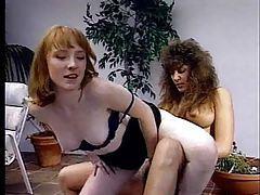 Strapon fucks her tight asshole tubes