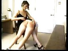 A hard spanking for the girl tubes