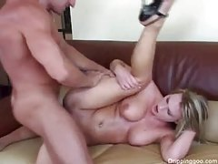 Sensual blonde is crazy for big cock tubes