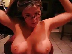 Sexy girl in glasses sucking cock very well tubes