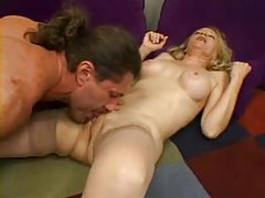 Blonde milf gives him a rub and gets fucked tubes