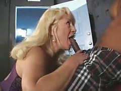 Black guy gets head from mature blonde tubes
