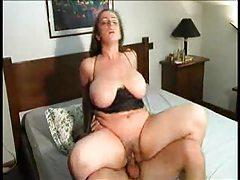 Busty slut likes cock in multiple scenes tubes