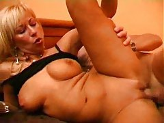 Blonde milf ass fucked and then creamed tubes